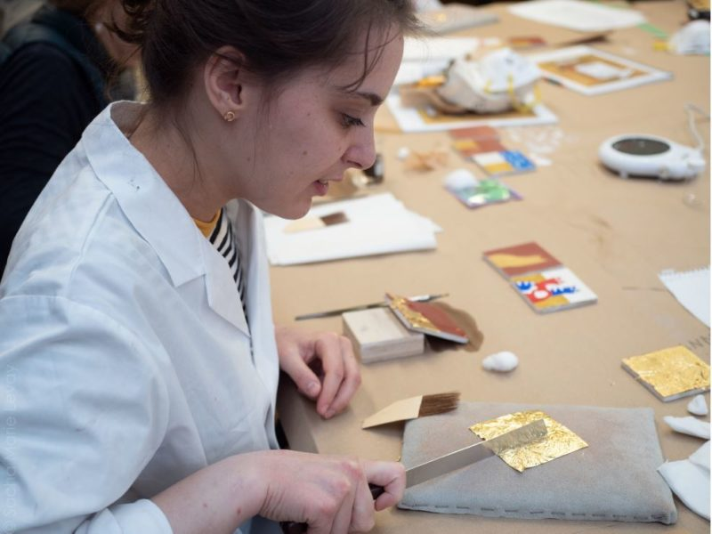 Gilding workshop 2020 - 2